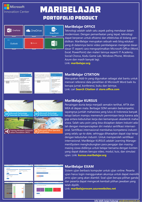 [Blue ] Brochure MariBelajar