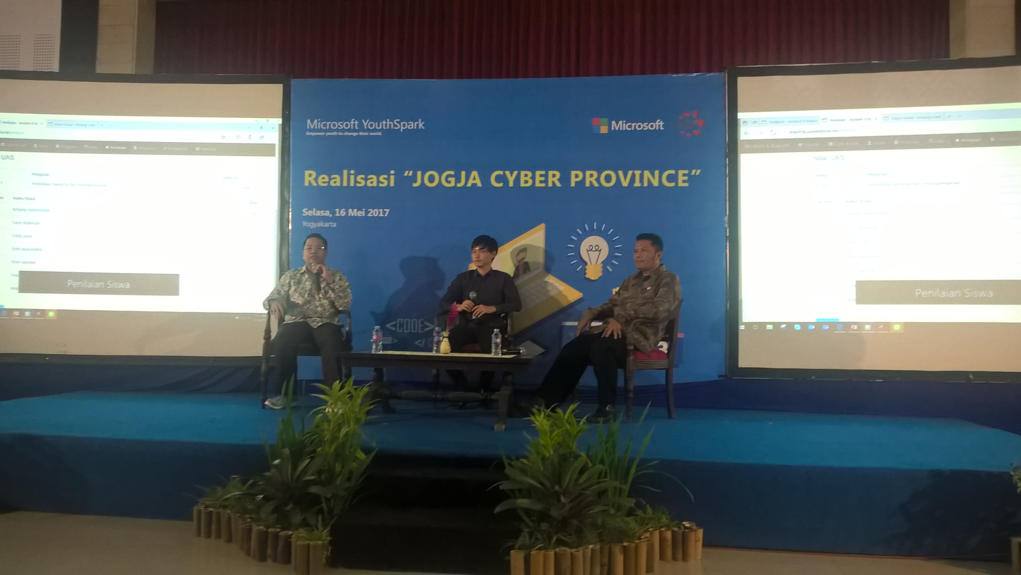 Focus Group Discussion - Jogja Cyber Province 2017